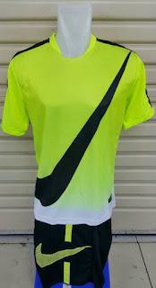gambar detail dan toko enkosa sport toko baju bola olahraga Jersey setelan futsal Nike GPX Flash Hijau 2015