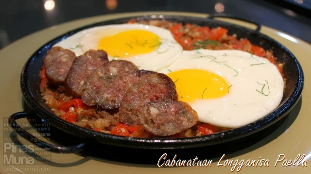 Cabanatuan Longganisa Paella by Sunshine Kitchen