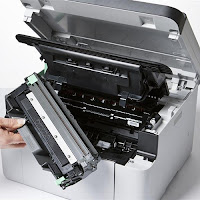 Brother DCP-1510 cambiar toner
