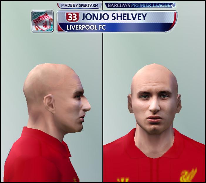 Face Jonjo Shelvey - PES 6
