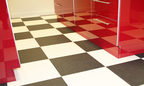 Vloertegels Keuken Zwart Wit : Keuken Vloertegels Zwart Wit : keuken getagd abstrakt faktum hoogglans