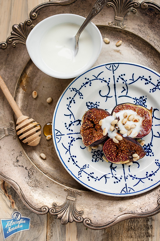 Figi pieczone w piekarniku