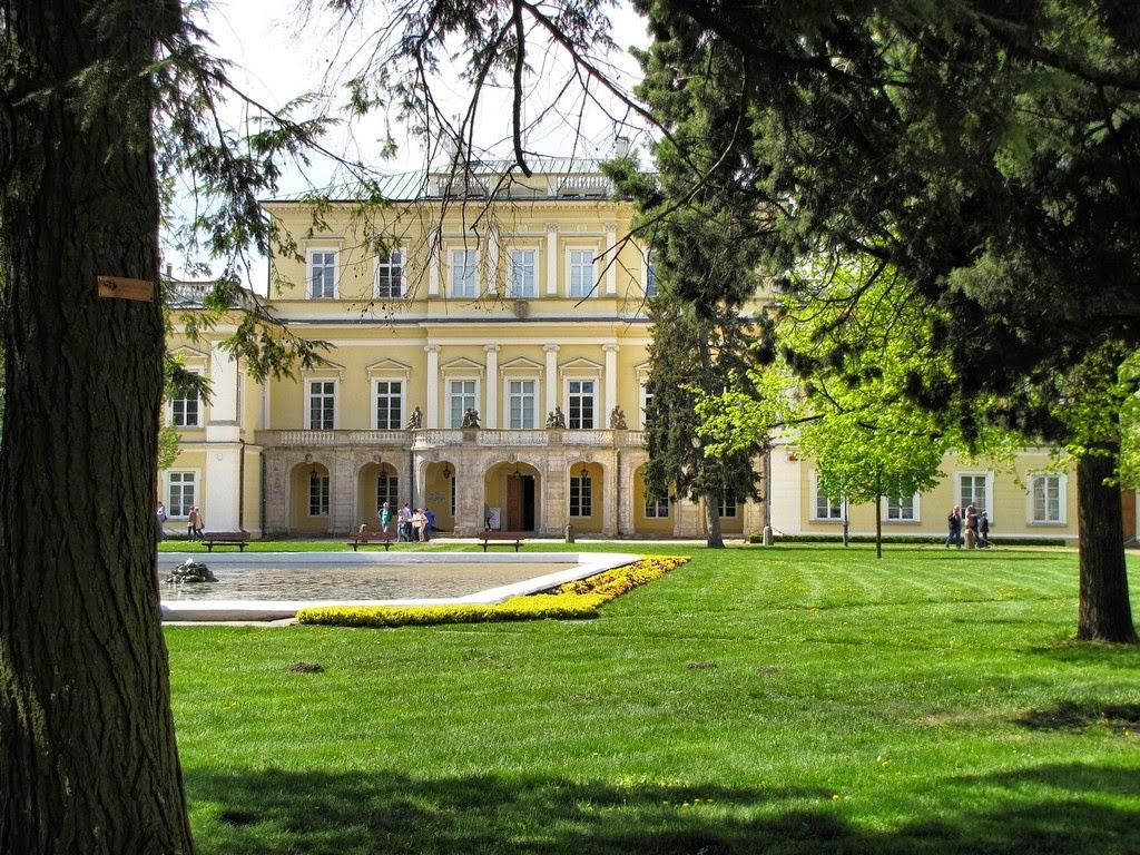 Puławy - Pałac Czartoryskich
