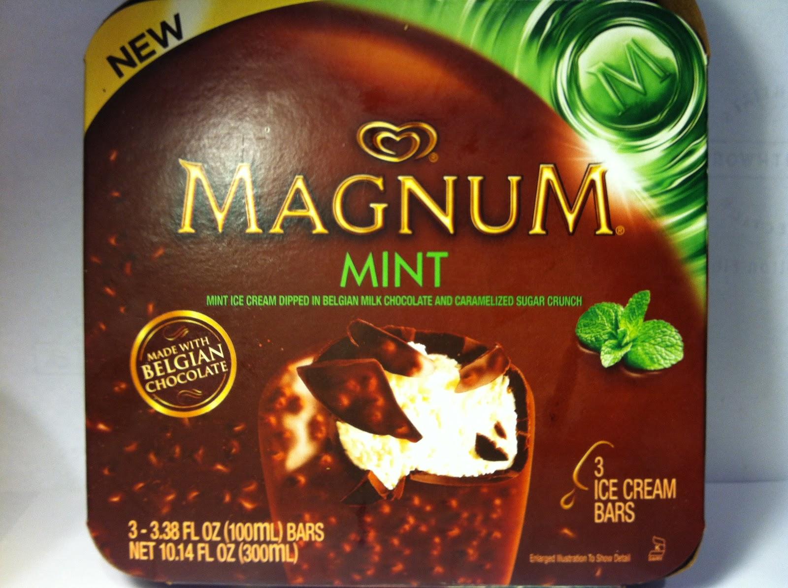 crazy food dude review magnum mint ice cream bar