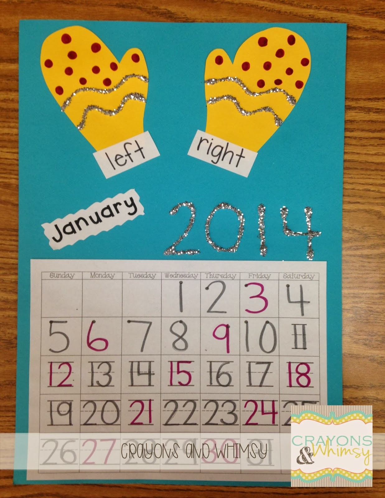 Kindergarten Calendar Common Core : January calendar time freebie crayons and whimsy