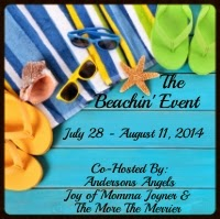 Enter the Beachin' Event Giveaway w/ over $800 in prizes. Giveaway ends 8/11.