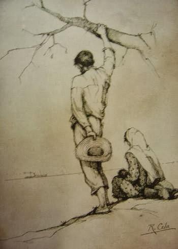O RETIRANTE - Obra de Raimundo Cela