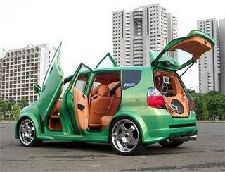 mobil modifikasi honda jazz
