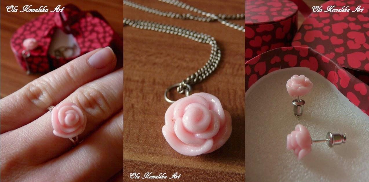 delikatna róża