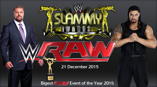 WWE Raw Slammy Awards 2015 Watch Online