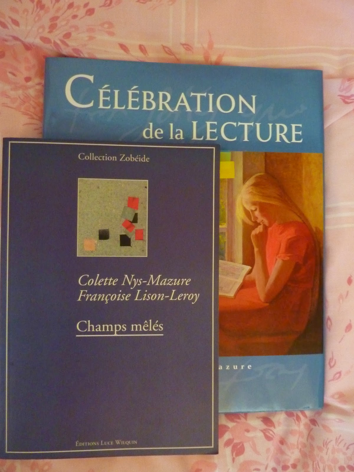 Champs mêlés - Colette Nys-Mazure et Françoise Lison-Leroy