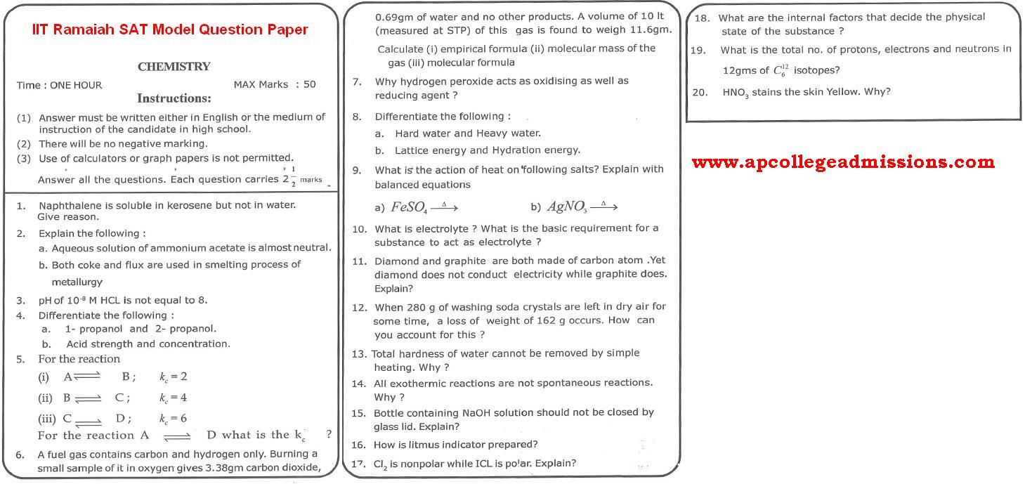 intermediate 2nd year model papers english