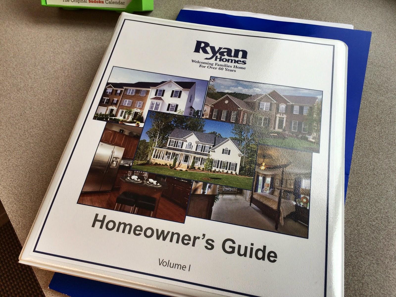 Ryan Homes Homeowner's Guide