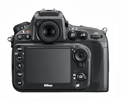 Nikon D800E 36.3 MP Menu