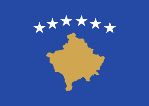 Flag of the Republic of Kosovo