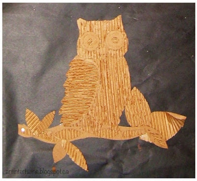 Art Intertwine - Cardboard Art