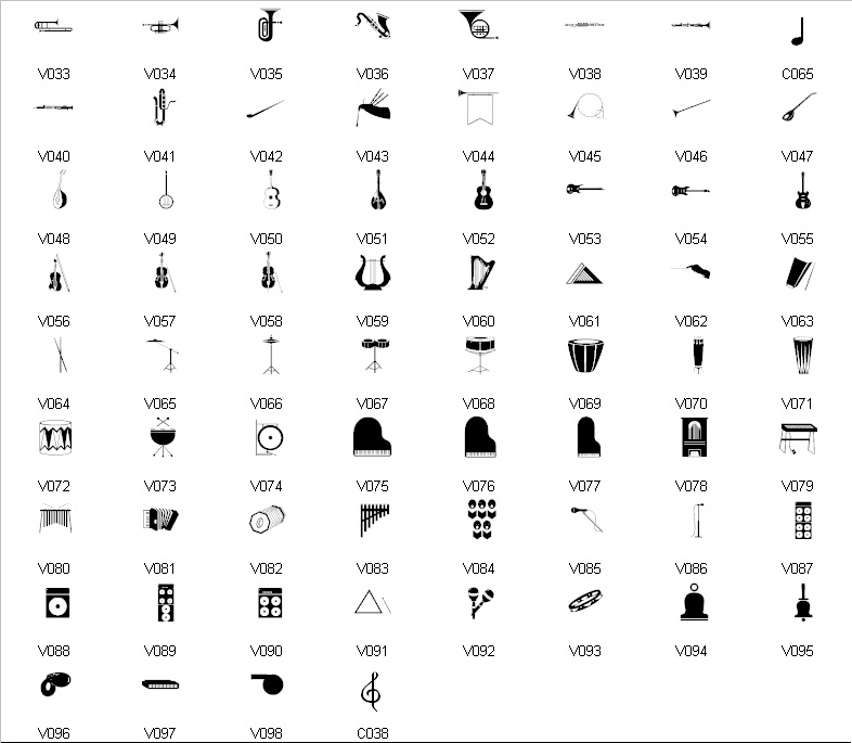 Music Symbols And Names Choice Image Meaning Of This Symbol