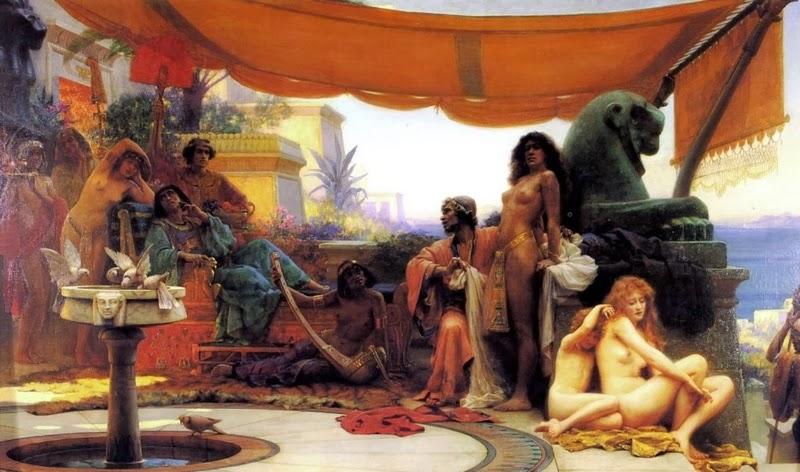 D.W.C. Slaves and Venus - Painter Ernest Normand