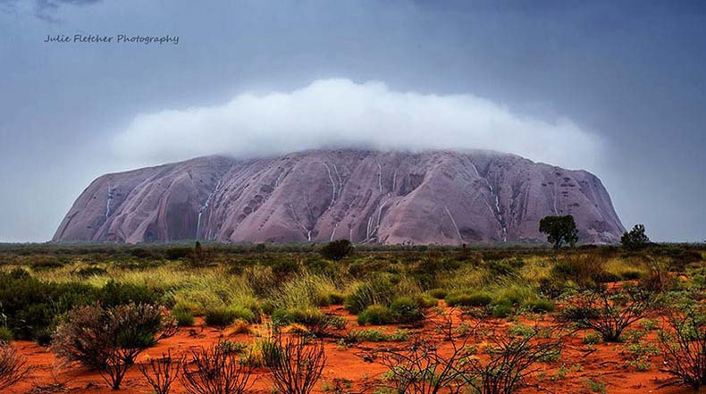 Mujer deja de vida de ciudad detrás para fotografiar los más remotos paisajes de Australia