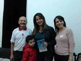 Manoel e Danielle com Dra. Cynthia Bedeschi