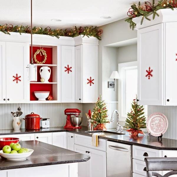 D coration cuisine pour le no l d cor de maison - Le decor de cuisine ...