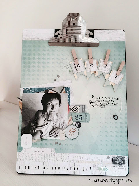Layout, reto setiembre scrapaddictes, carpeta alterada, Scrapbooking, Scrapbook, remember, simple and clean.