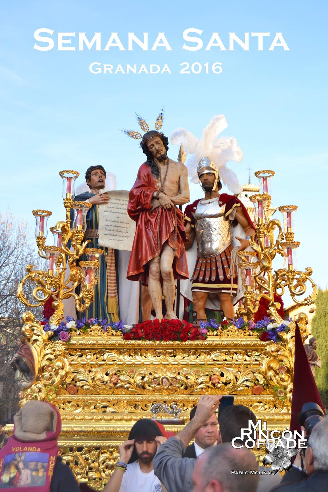 "Cartel ""Mi Rincón Cofrade, Semana Santa Granada 2016"""