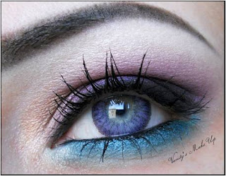 Geo Luna Violet Color Contact Lenses