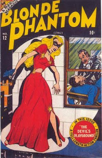 Blonde Phantom 12 cover