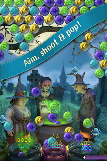 Bubble Witch Saga iPhone screenshot