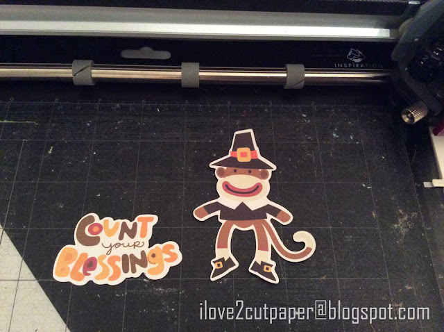 Sock Monkey, Thanksgiving, Pilgrim, ilove2cutpaper, LD, Lettering Delights, Pazzles, Pazzles Inspiration, Pazzles Inspiration Vue, Inspiration Vue, Print and Cut, svg, cutting files, templates,