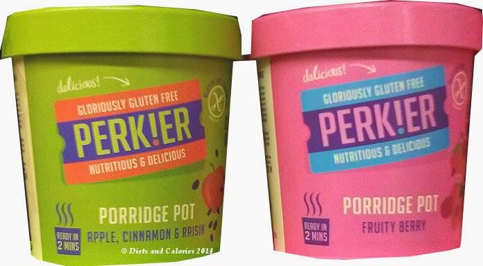 Perkier gluten free porridge oat pots
