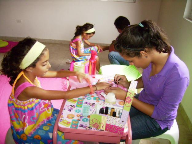 Mini spa para fiestas infantiles - Imagui