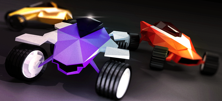 Download Stunt Rush - 3D Buggy Racing Apk + Data