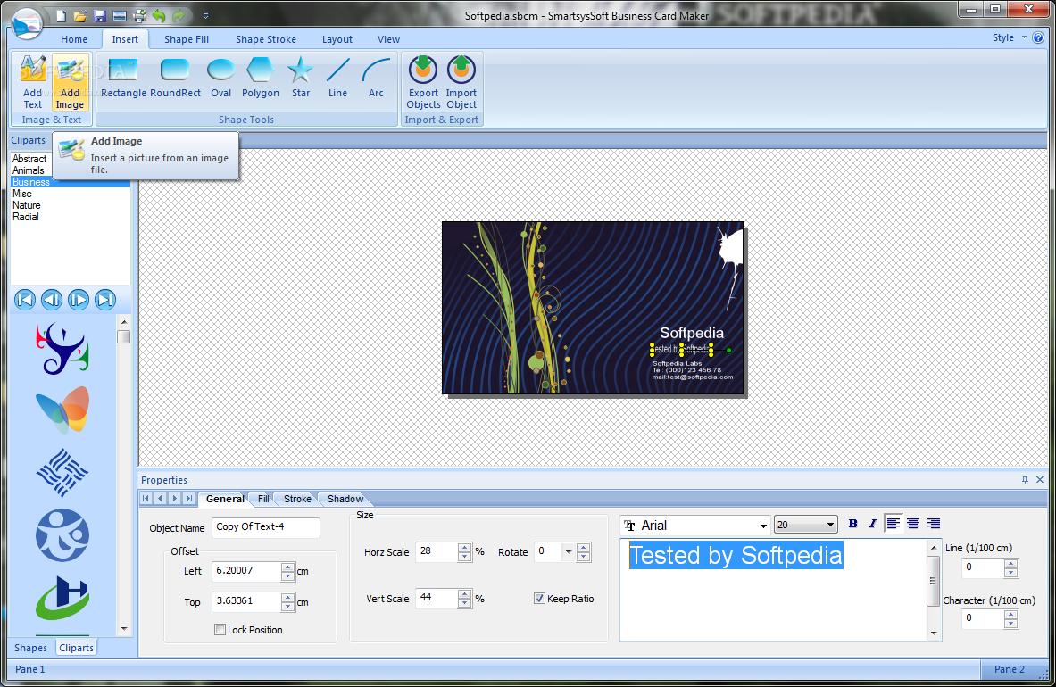 SmartsysSoft Business Card Maker 2 30 FULL Serial Key