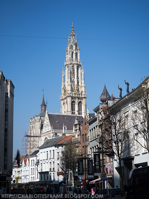 toren onze lieve vrouwekathedraal, cathedral of our lady tower