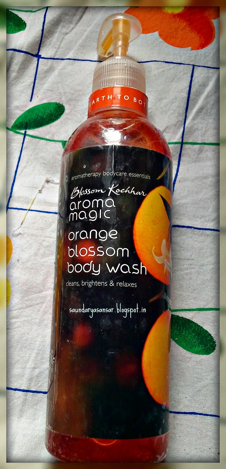 Blossom Kochhar Aroma Magic Orange Blossom Body Wash review