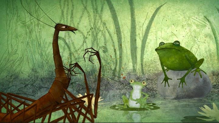 Mille-Pattes et Crapaud by Anna Khmelevskaya