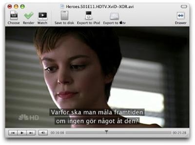 Poner subtítulos a películas online de sitios como Megavideo