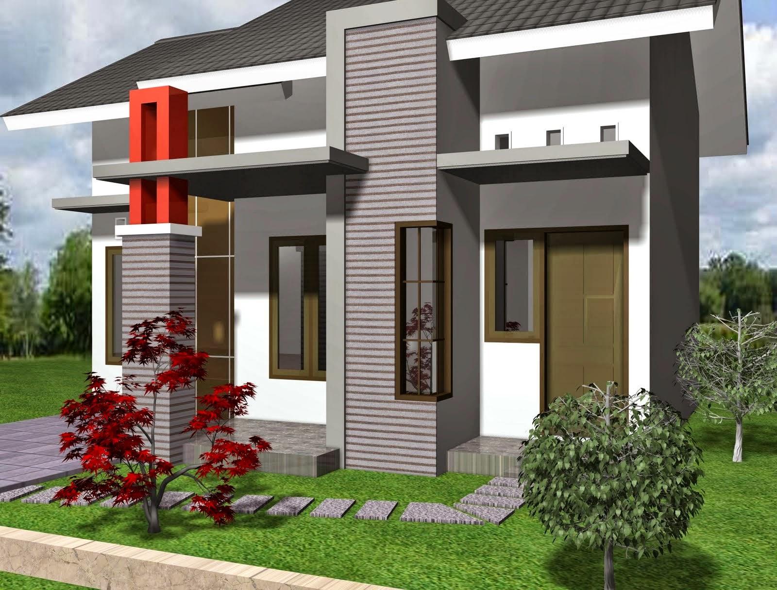 Desain Rumah Minimalis 1 Lantai Gambar Foto Desain Rumah