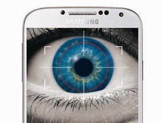 Ponsel Samsung dengan scanner mata, apakah Galaxy S5?