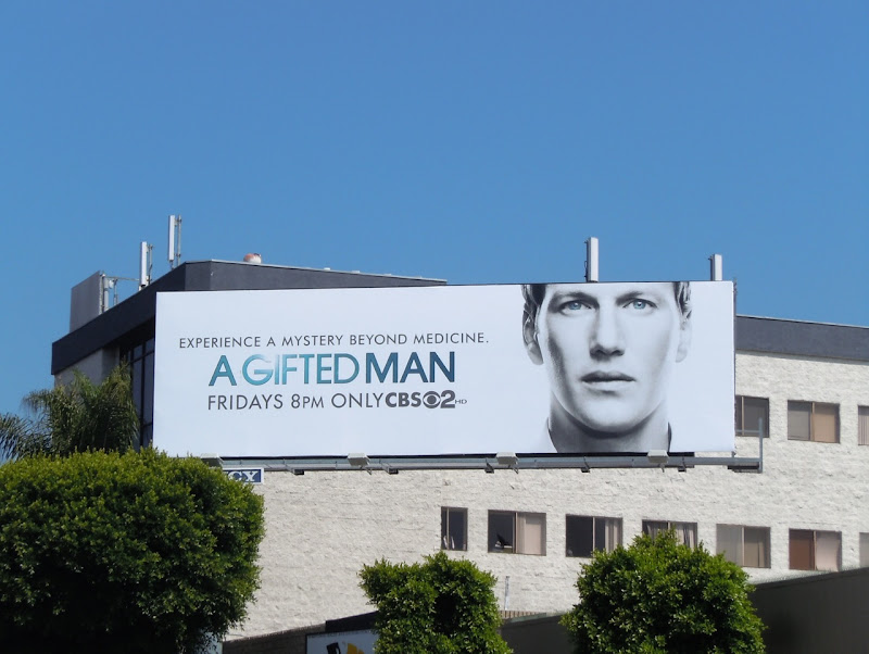 A Gifted Man billboard