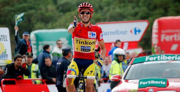 Contador gana su tercera Vuelta ciclista a España
