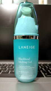 Laneige Blackhead Melting Gel Review Singapore lunarrive blogger
