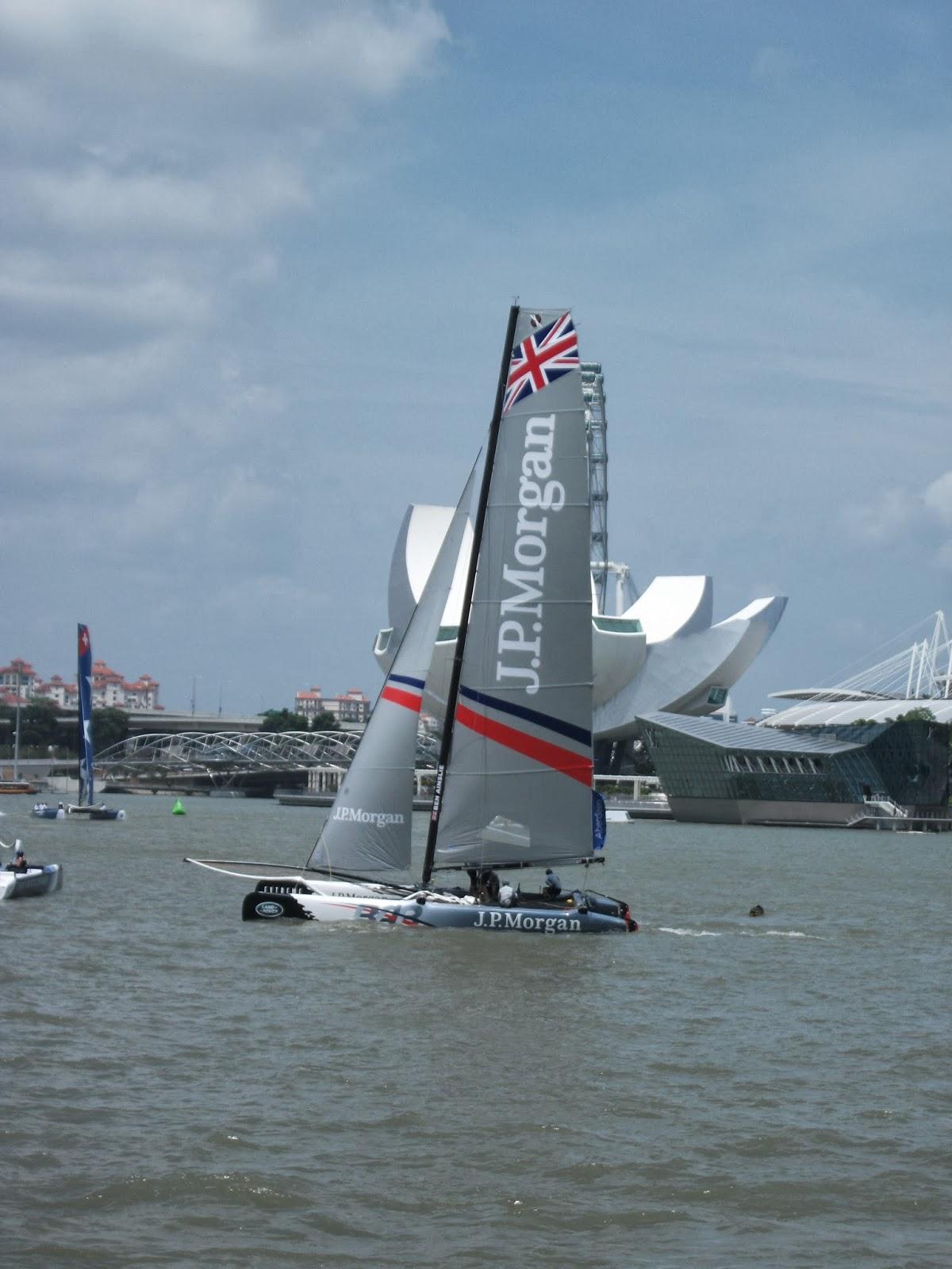 Expat Adventures In Singapore Extreme Sailing Series 2014