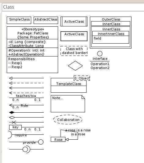 Building Air Castles: UML symbols reference