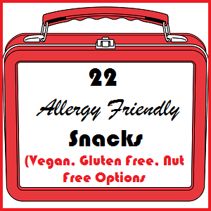 Allergy Friendly Snacks