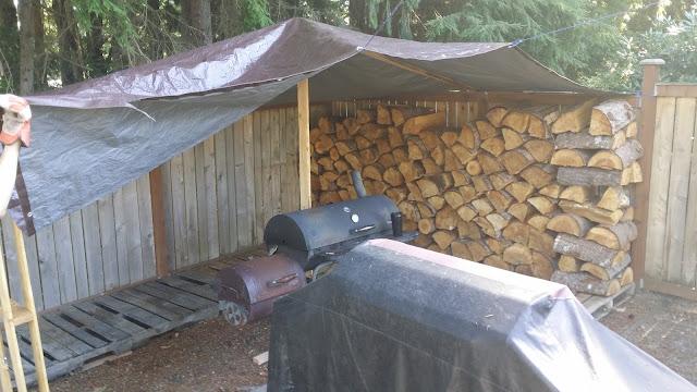 Hillbilly Cook Shed