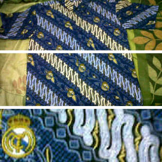 Batik Bola Real Madrid