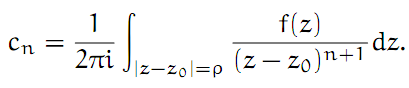 Complex Analysis: #15 The Laurent Series equation pic 6